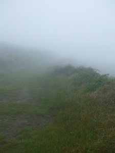 Misty day on Cape Clear, West Cork