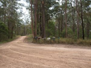A long and winding road (Ravensbourne, Australia)