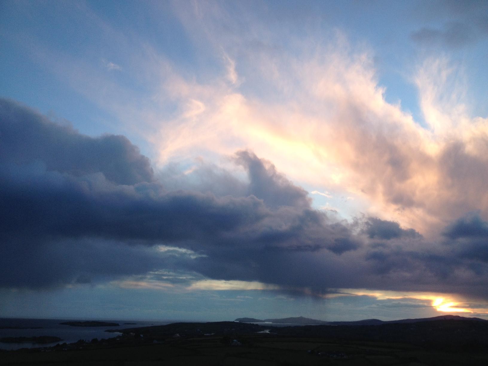 Amazing skies – E.R.Murray