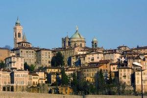 Beautiful city of bergamo, Italy