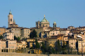 Beautiful city of bergamo, Italy