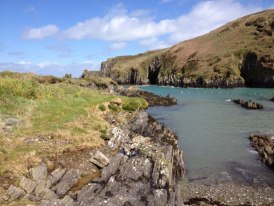 beautiful East harbour, Cape Clear