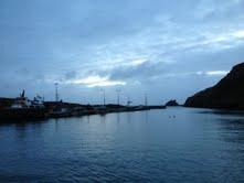 Dawn on Cape clear island, ireland