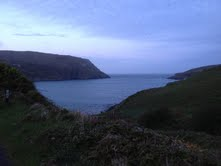 dawn on cape clear, ireland