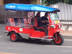 thailand travel tuk tuk