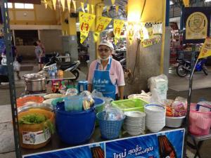 Thai travel street food