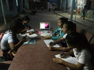 writing poetry in english, cambodia