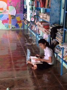 singing kites school library