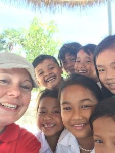 teaching Cambodia rural living