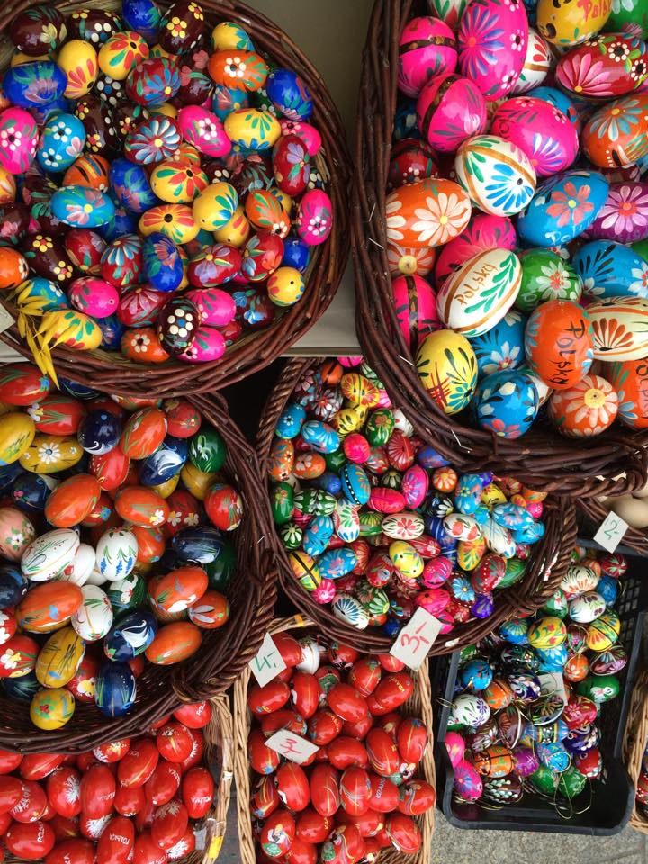 easter eggs poland