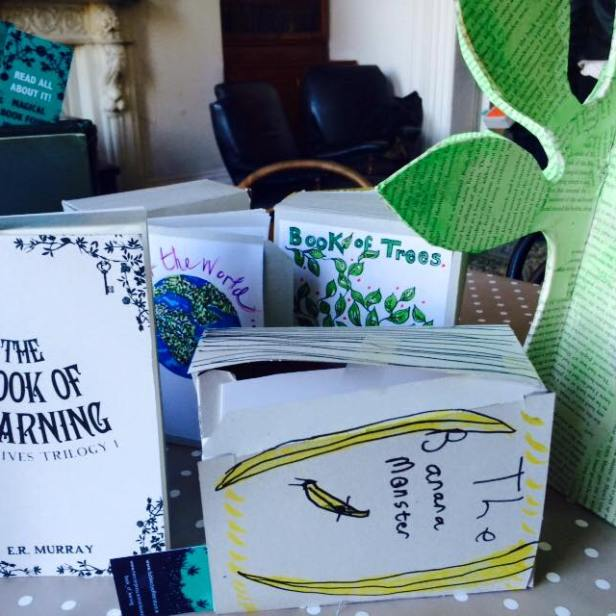 Making magical books!